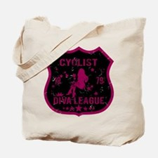 Cyclist Diva League Tote Bag