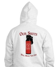 Peppers Shots MK 7 Bar and Gr Hoodie
