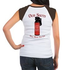 Peppers Shots MK 7 Bar and Gr Women's Cap Sleeve T
