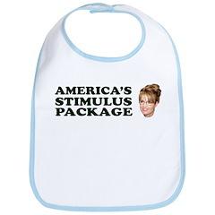 America's Stimulus Package Bib