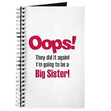 Oops Big Sister Journal