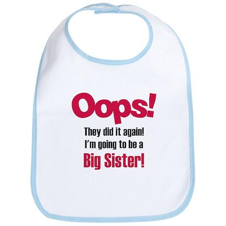 Oops Big Sister Bib