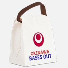 Cool Okinawa Canvas Lunch Bag