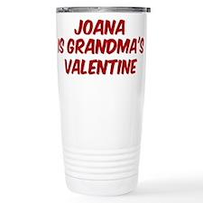 Joanas is grandmas valentine Travel Mug