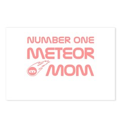 Number One Meteor Mom Postcards (Package of 8)