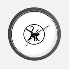 Monkeyboys Wall Clock