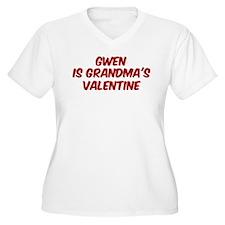 Gwens is grandmas valentine T-Shirt