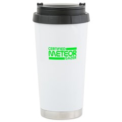 Certified Meteor Gazer Stainless Steel Travel Mug