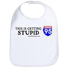 This is Getting Stupid I-95 Bib