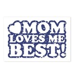 Mom Loves Me Best Postcards (Package of 8)