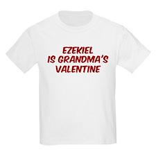 Ezekiels is grandmas valentin T-Shirt