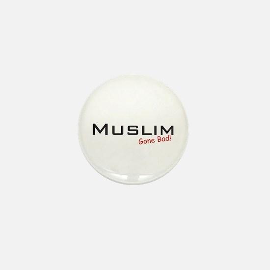 Bad Muslim Mini Button