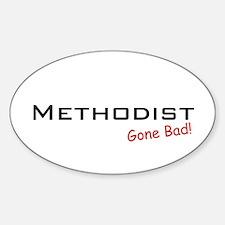 Bad Methodist Oval Decal