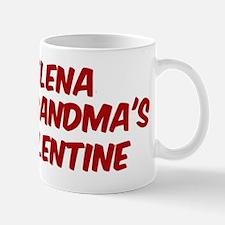 Elenas is grandmas valentine Mug