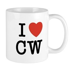 I Heart CW Mug