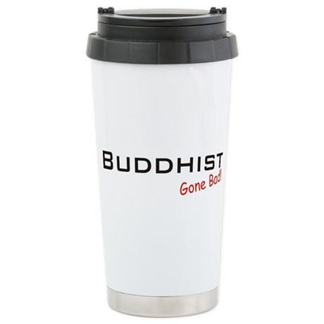 Bad Buddhist Stainless Steel Travel Mug
