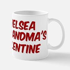 Chelseas is grandmas valentin Mug