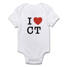 I Heart CT Infant Bodysuit