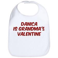 Danicas is grandmas valentine Bib