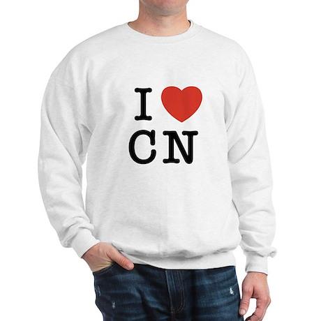 I Heart CN Sweatshirt