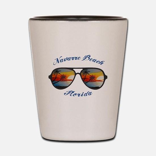 Florida - Navarre Beach Shot Glass