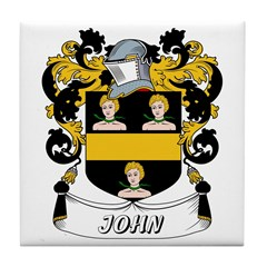 John Coat of Arms Tile Coaster