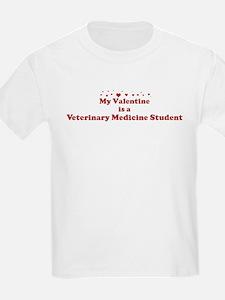 Valentine: Veterinary Medicin T-Shirt