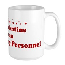 Valentine: US Military Person Mug