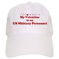 Valentine: US Military Person Baseball Cap