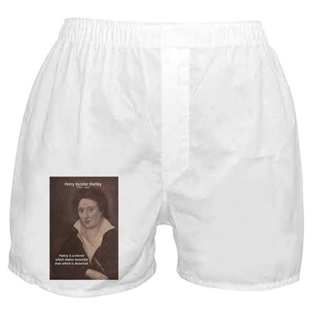Romantic Poet Percy Shelley Boxer Shorts
