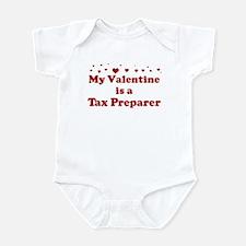 Valentine: Tax Preparer Infant Bodysuit