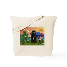 Bouvier Christmas Fantasy Tote Bag