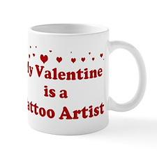 Valentine: Tattoo Artist Small Mug
