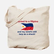 Married To A Filipino Tote Bag