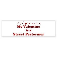 Valentine: Street Performer Bumper Bumper Sticker