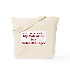 Valentine: Sales Manager Tote Bag