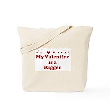 Valentine: Rigger Tote Bag