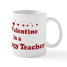 Valentine: Sociology Teacher Mug