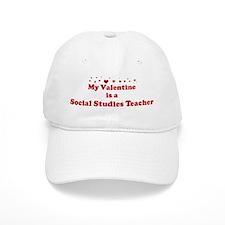 Valentine: Social Studies Tea Baseball Cap