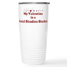 Valentine: Social Studies Stu Travel Mug