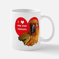 sun conure love Mug