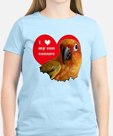 sun conure love T-Shirt