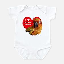 sun conure love Infant Bodysuit