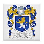 Karadoc Coat of Arms Tile Coaster