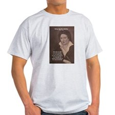 Writer Percy Bysshe Shelley Ash Grey T-Shirt