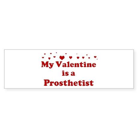 Valentine: Prosthetist Bumper Sticker