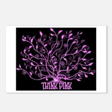 Think Pink Lovely Postcards (Package of 8)