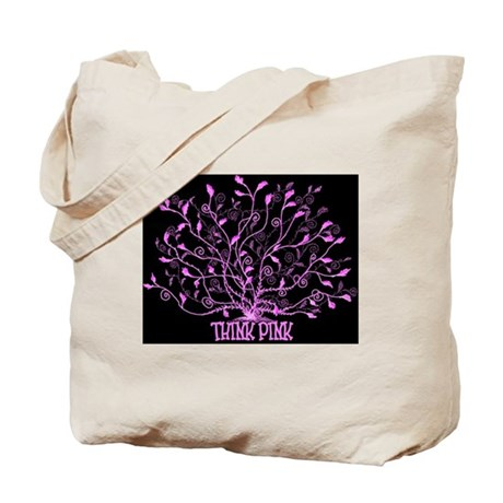 Think Pink Lovely Tote Bag