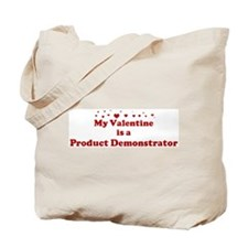Valentine: Product Demonstrat Tote Bag