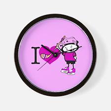 I heart Nancy Boys Wall Clock